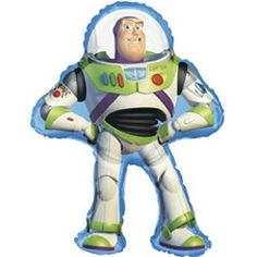 Toy Story Balloons - Buzz Lightyear (Each) | $5.57 | http://www.discountpartysupplies.com/boy-party-supplies/toystorypartysupplies/toy-story-balloons-buzz-lightyear.html