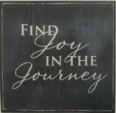Find Joy...