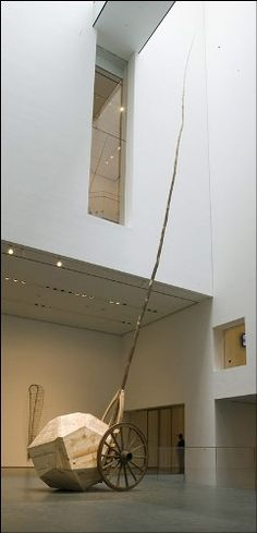 "Martin Puryear, ""Ad Astra"", 2007. PHOTO: Richard Barnes - Museum of Modern Art."