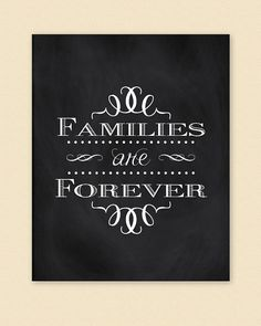families are forever poster 2014 Theme