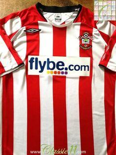b974a939ed9 2008/09 Southampton Home Football Shirt / Original Soccer Jersey | Classic Football  Shirts. Official Umbro Southampton ...