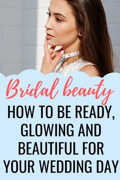 I've put together a bridal beauty routine: what you'll need to do to prep your body head-to-toe to be ready, glowing and beautiful for your wedding day. Bridal Beauty, Wedding Beauty, Bridal Hair, Budget Wedding, Wedding Day, Dream Wedding, Wedding Advice, Bridal Headpieces, Head To Toe