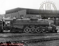 VGN Class BA 507 Right Side View at Roanoke,VA March 27,1959