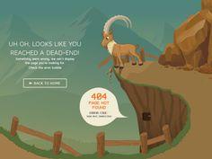 31 Unique 404 Error Page Designs - UltraLinx