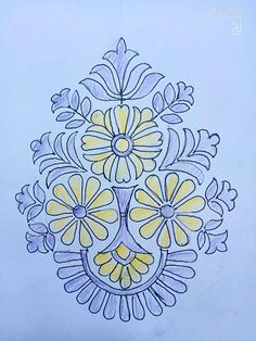 Indian Embroidery Designs, Paisley Embroidery, Gold Embroidery, Hand Embroidery Stitches, Embroidery Patterns, Paisley Pattern, Pattern Art, Pattern Design, Mehndi Designs Book