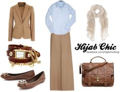 """Hijab style inspiration: Formal style #2"" by fashion4arab on Polyvore"