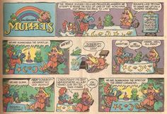 머펫 코믹즈👀🍭  Sunday Comics Debt: April 2014