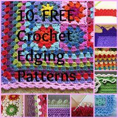 Knot Your Nana's Crochet: 10 Ways To Get The Perfect Finish On Your Crochet Afghan ❥Teresa Restegui http://www.pinterest.com/teretegui/❥