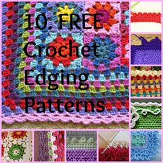 Knot Your Nana's Crochet: 10 Ways To Get The Perfect Finish On Your Crochet Afghan ❥Teresa Restegui http://www.pinterest.com/teretegui/❥