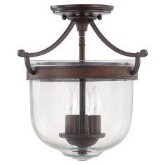 Jake Semi-Flush Mount - Best-Selling Lighting on Joss & Main
