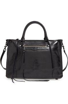 820ec80f1b Rebecca Minkoff  Regan  Satchel available at  Nordstrom Denim Handbags