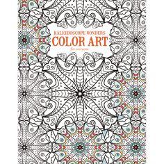 Leisure Arts Kaleidoscope Wonders Color Art