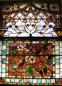 Tiffany Window - Dogwood Flowers    To learn more about the restoration of St. Stephen's please visit    www.ststephenslynn.org/