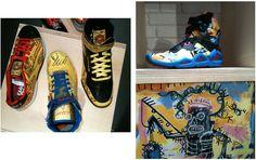 Basquiat Keith Haring Reebok à l'imprimerie