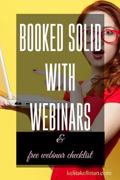 webinars for coaches - how to book paying clients with the use of webinars!