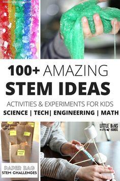 100+ Amazing STEM Ideas