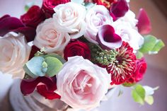 Love this fall wedding bouquet with roses, callas, zinnias and eucalyptus. Bridal Bouquet Fall, Fall Wedding Bouquets, Wedding Flower Decorations, Wedding Flowers, Zinnias, Country Chic, Decor Styles, Wedding Planning, Roses