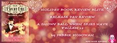 BIKE BOOK REVIEWS: HOLIDAY BOOK REVIEW BLITZ: A SNOWY BALL RELEASE DAY REVIEW!!