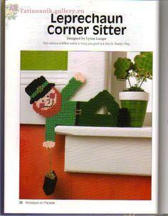 Leprechaun Corner Sitter 1/2