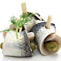 Recept : Zavináče z bílých ryb | ReceptyOnLine.cz - kuchařka, recepty a inspirace Fisher, Fish Recipes, Fish Food, Jar, Canning, Vegetables, Syrup, Fish Feed, Vegetable Recipes