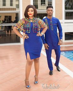 The most popular african clothing styles for women in kente wedding fashion dress, kente kaba, African fashion 2018 African Print Dresses 2018 : Cute and Gorgeous Styles for Stylish Ladies, afrocentric fashion, afrofashion vêtements africains pour Couples African Outfits, Couple Outfits, African Attire, African Wear, African Men Fashion, African Fashion Dresses, African Women, African Print Dresses, African Dress