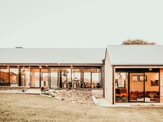 Victoria House, External Cladding, Modern Barn House, Passive Design, Local Builders, Shed Homes, Exposed Brick, Types Of Houses, House And Home Magazine