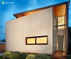 Manufacturer of fibre cement building products including James Hardie and Scyon external cladding, interior lining, flooring and eaves products for the Australian residential and commercial market. Cladding Design, Interior Cladding, Timber Roof, Timber Cladding, House Cladding, Minimalist House Design, Minimalist Home, Modern Victorian Homes, Modern Homes