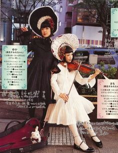 crazy ass lolita bonnets