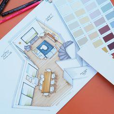 #croquis #plan #aménagement #coachingdeco #coachdeco #decoratrice #homedecor #decor #draw #drawing #sketch