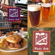 Massachusetts Avenue Food Tour: This Massachusetts Avenue Food Tour will explore the progression of Indianapolis cuisine over the years as well as the neighborhood. #MassachusettsAvenue #Indianapolis #FoodTour
