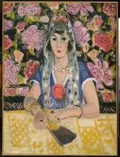 Henri Matisse ~ Spanish Woman: Harmony in Blue