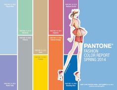 Fashion color report spring 2014 | Five by ST