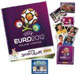 Panini Official UEFA Euro 2012 Sticker Collection Starter Pack Album Book + 3 Stickers & 1 England GoGo (Random)