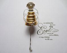 Engel Schutzengel Knopfengel von knopfwerkstatt auf Etsy