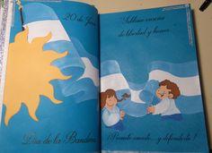 libro para firmas en cartulina, pintada con acrílicos