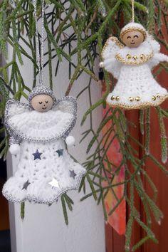 Kostenlose Häkelanleitung für Weihnachtsengelchen