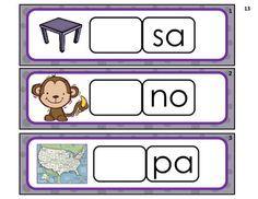 Aprendiendo a leer sílabas y palabras con la letra m Spanish Activities, Hands On Activities, Learning Activities, Dual Language, Language Arts, Great Schools, Homeschool Kindergarten, Spanish Classroom, Syllable