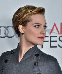 Evan Rachel Wood With Short Hair