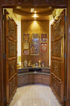 Indian Pooja Room Designs | pooja room | Pinterest | Room, Puja ...
