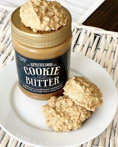 Trader Joe's Cookie Butter No Bake Cookies - Crisp Collective Speculoos Cookie Butter, Butter Cookies Recipe, No Bake Cookies, Homemade Cookie Butter, Biscoff, Shortbread Cookies, Trader Joes Food, Trader Joe's, Trader Joes Bread