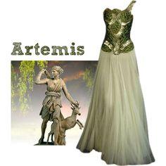 """Greek Goddess - Artemis"" by liz-7695 on Polyvore"