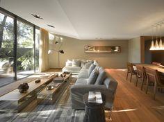 Casa Barrancas : Salas de estar modernas por Ezequiel Farca
