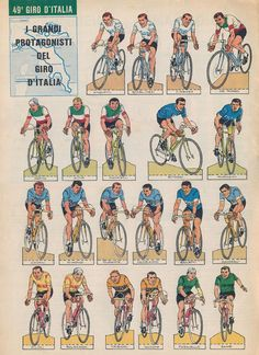 Vintage Cycles, Road Racing, Illustrations And Posters, Trading Cards, Westerns, Classic Cars, Cycling, Bicycle, Jumping Jacks