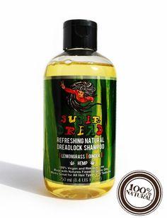 Super Dread Natural Dreadlock Shampoo - Hemp, Lemongrass and Ginger Dread Shampoo, Dreadlock Shampoo, Hemp Shampoo, Natural Shampoo, Psoriasis Remedies, Psoriasis Symptoms, Psoriasis Skin, Natural Dreads