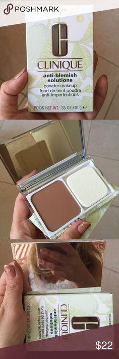 Clinique powder makeup 18 SAND (M-N) new in box Clinique Makeup Face Powder
