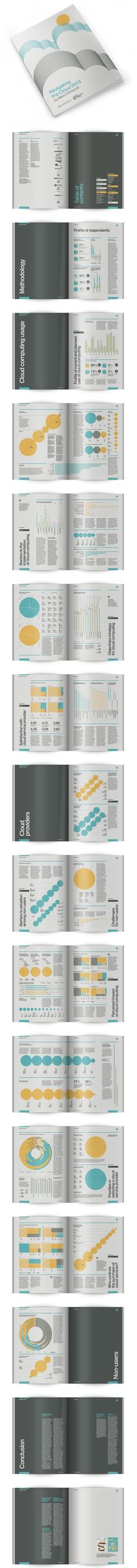 Infographic Survey Navigating the Cloud on Behance #infographics