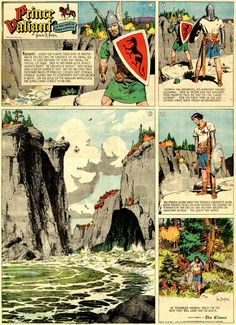 Prince Valiant was my action hero, long before there was Game of Thrones