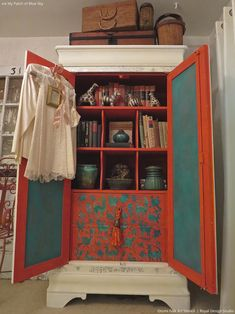 """Read on for how """"Stenciled Suprises are Great Painted Furniture Ideas"""" - Painted Furniture & Cabinet Doors with Royal Design Studio Stencils"""
