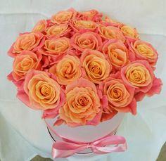 Delikatny, kobiecy flowerbox prosto z naszej Pracowni