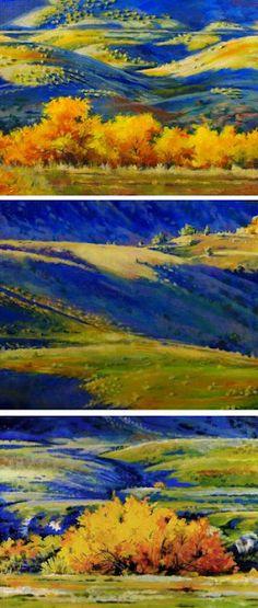 Backyard Triptych Backyard Triptych Nancee Busse nanceebusse Colorado Landscape Paintings by Artist Nancee Jean Busse Original Colorado Landscape Painting Backyard Triptych by nbsp hellip Landscape Art, Landscape Paintings, Landscapes, Art Paintings, Daily Painters, Busse, Triptych, Art Classroom, American Artists